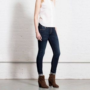 VEUC Rag & Bone Dorset Selvage Skinny Jeans Sz 27